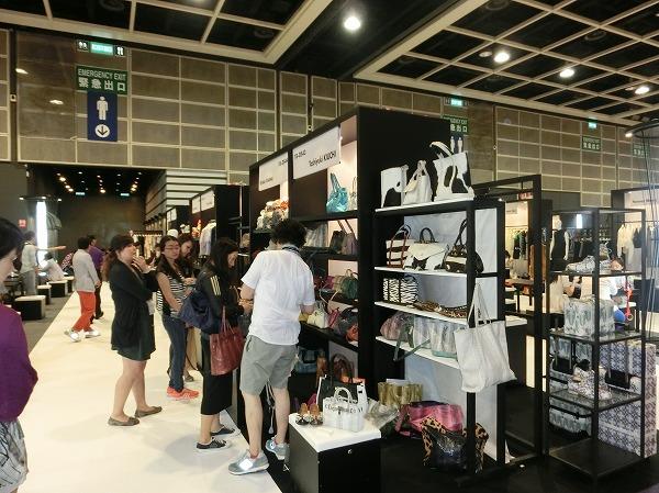 香港ファッションウィーク2014年7月展風景その1