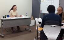 岡正子さんのミニセミナー風景